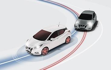Controlo ativo da trajetória da Nissan