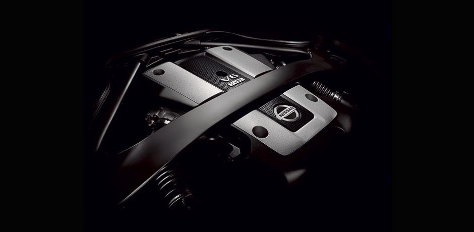 Nissan 370z blanche technologie