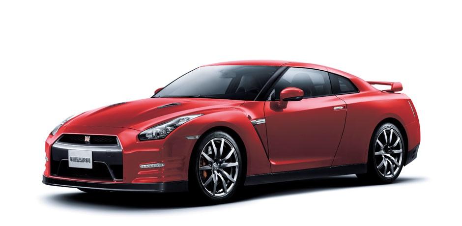 neuer Nissan GT-R Seitenansicht