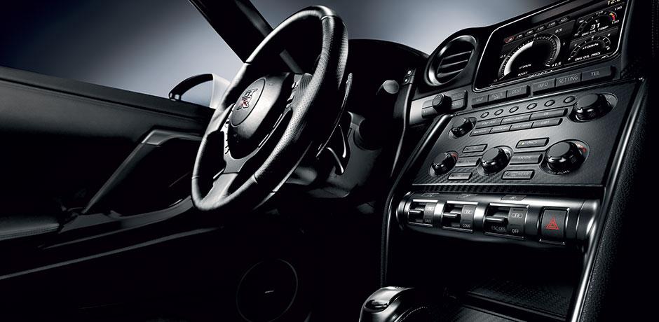 neuer Nissan GT-R Lenkrad