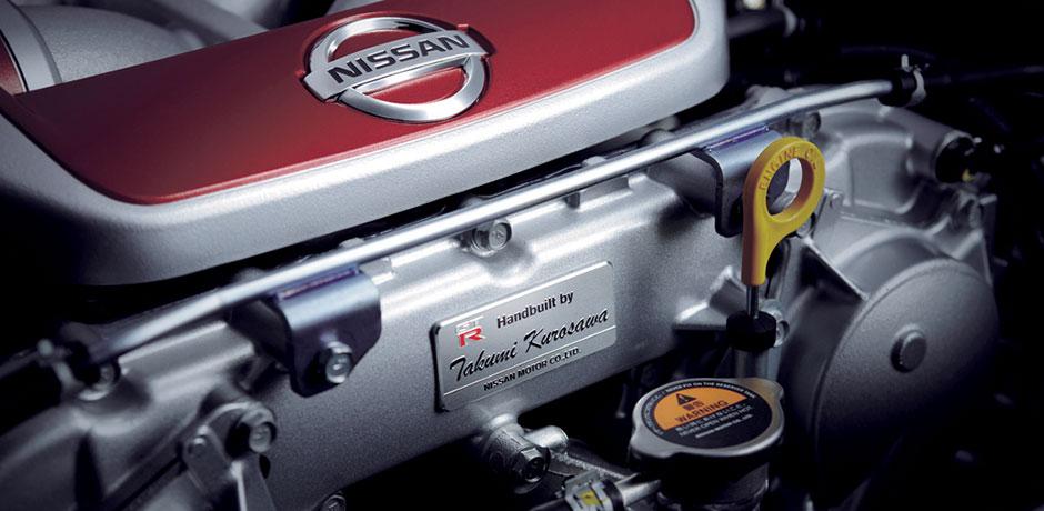 neuer Nissan GT-R Technologie