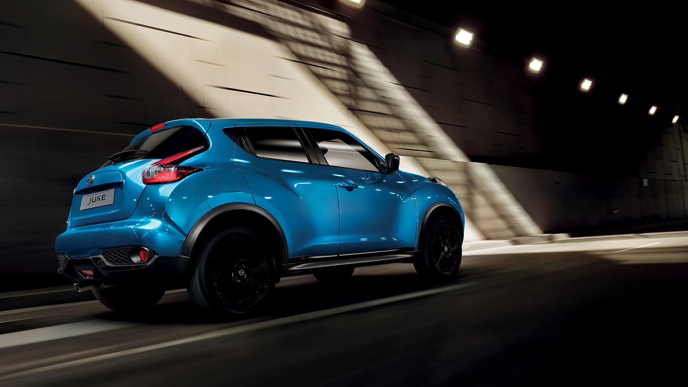 Exterior Azul Poderoso do Nissan JUKE 2018