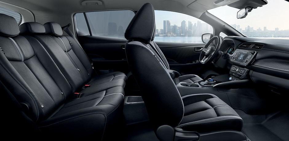 Nuova Nissan LEAF per la tua flotta – Design degli interni