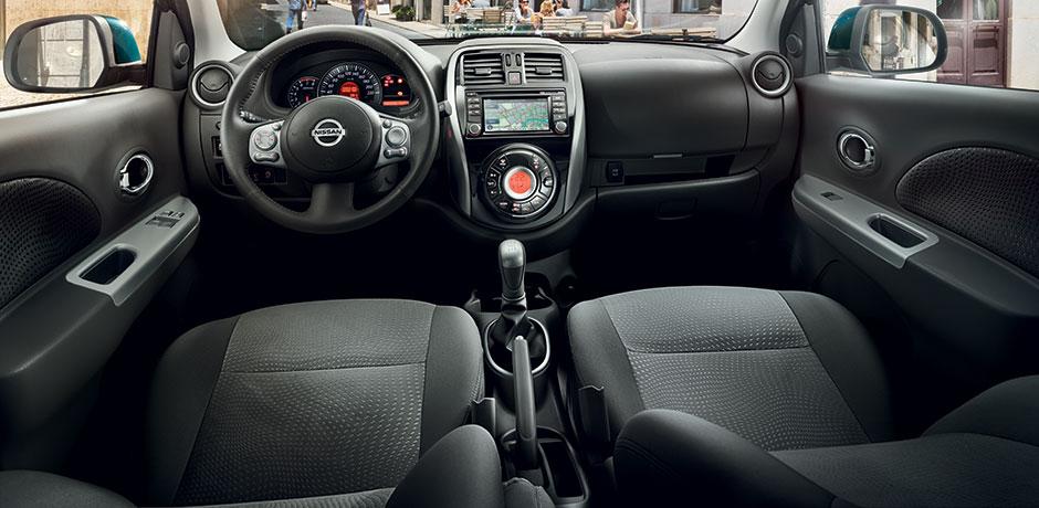neuer Nissan Micra Lenkrad