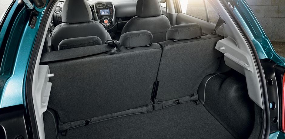 neuer Nissan Micra Kofferraum