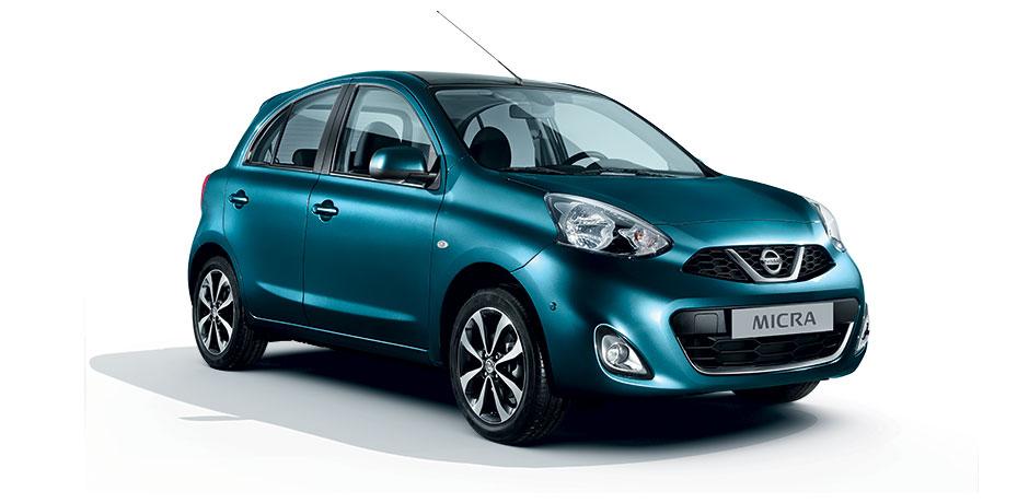 neuer Nissan Micra Vorderansicht