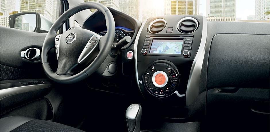 neuer Nissan Note Lenkrad