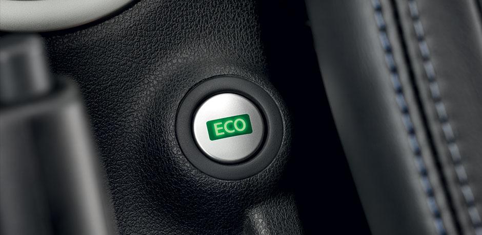 neuer Nissan Note ECO-Fahrmodus