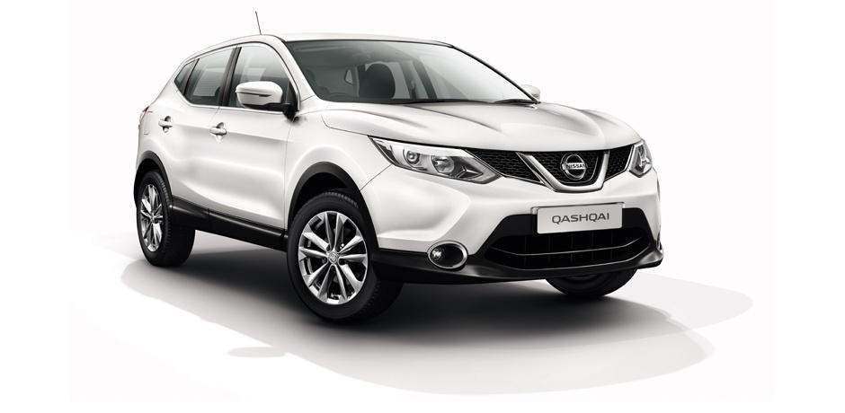 neuer Nissan Qashqai Vorderansicht