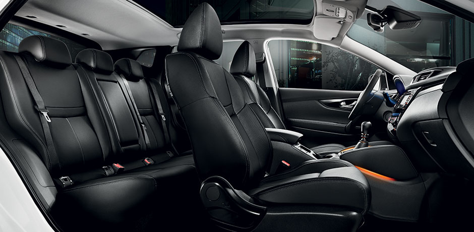 nouveau Nissan Qashqai intérieur