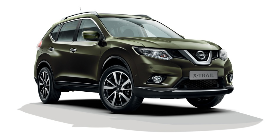 new Nissan X-Trail  front view