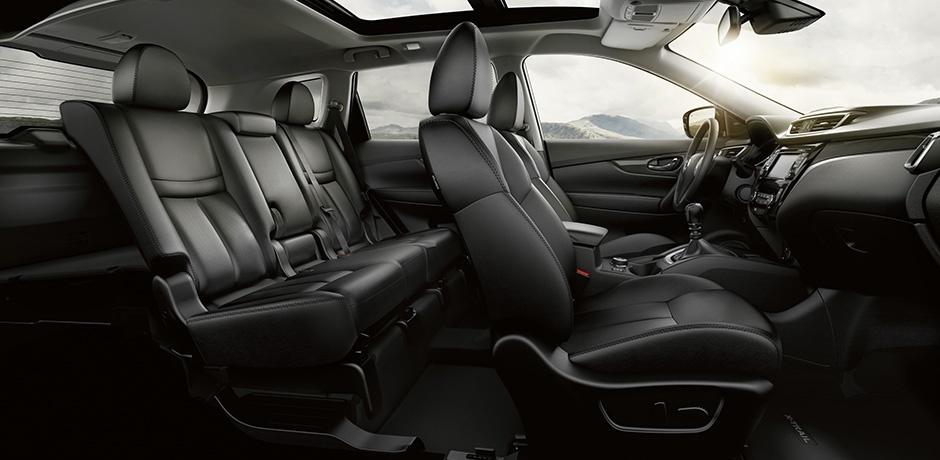 neuer Nissan X-Trail Innenraum