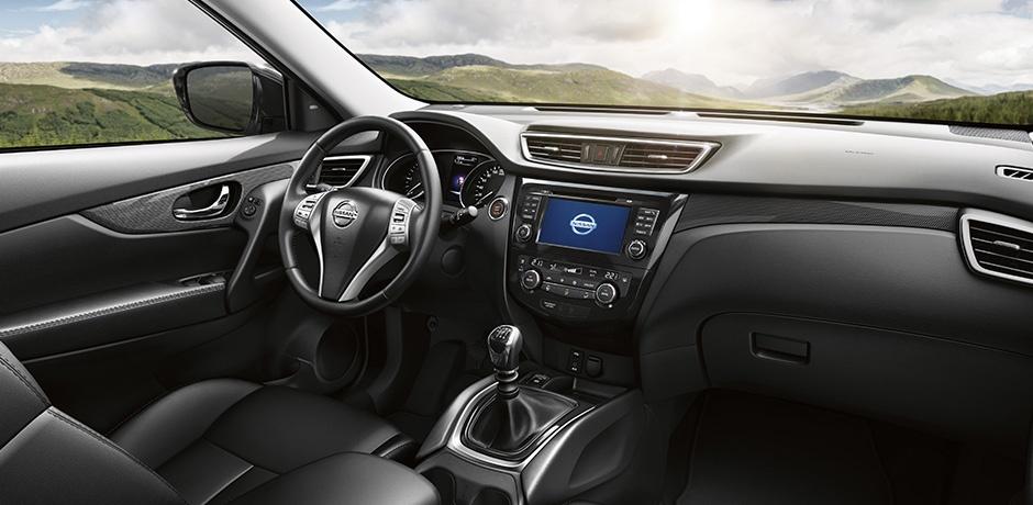 neuer Nissan X-Trail Lenkrad