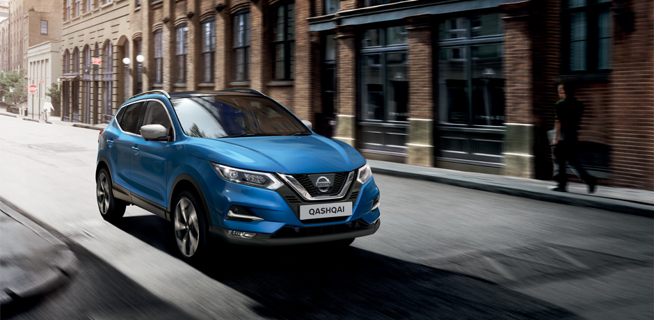 New Nissan Qashqai for your fleet - Exterior design