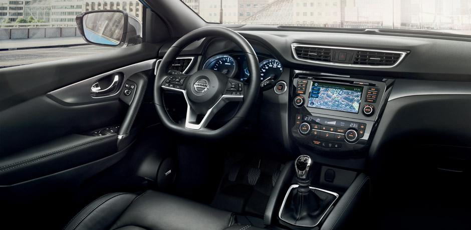 Novo Nissan QASHQAI para a sua frota - Design interior