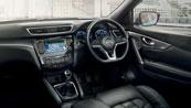 New Nissan Qashqai for your fleet - Interrior design