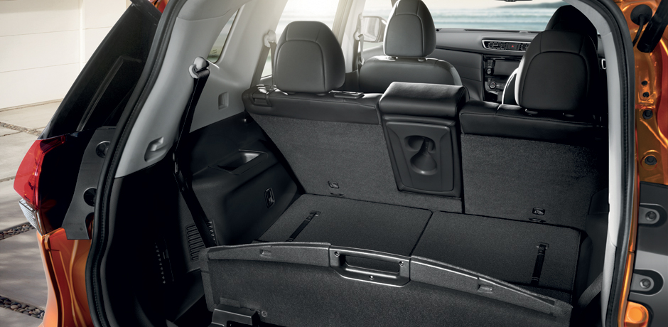 New Nissan X-Trail for your fleet - Boot capacity