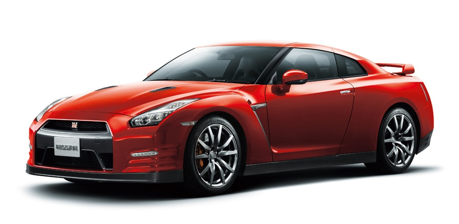 new Nissan GT-R side view