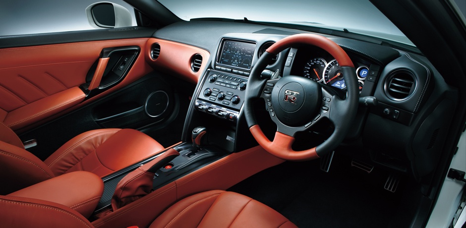 new Nissan GT-R interior design
