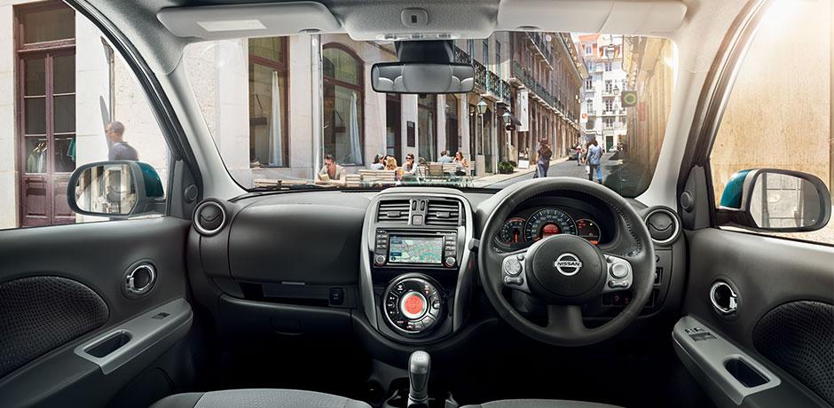 Nissan Micra steering wheel