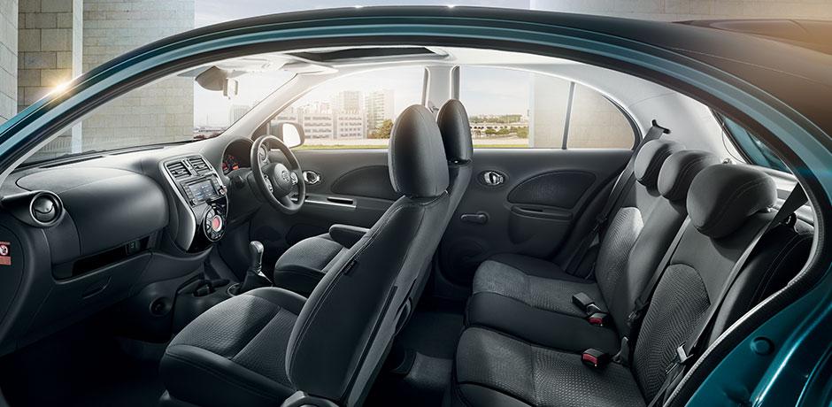 Nissan Micra interior design