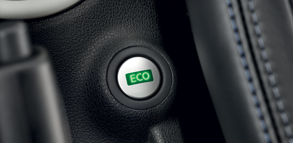 new Nissan Note ECO mode