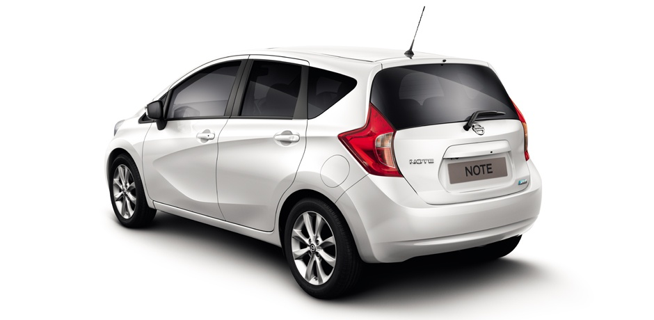 new Nissan Note rear view