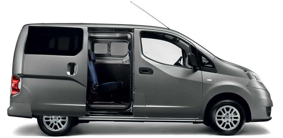 Nissan NV200 Combi front view