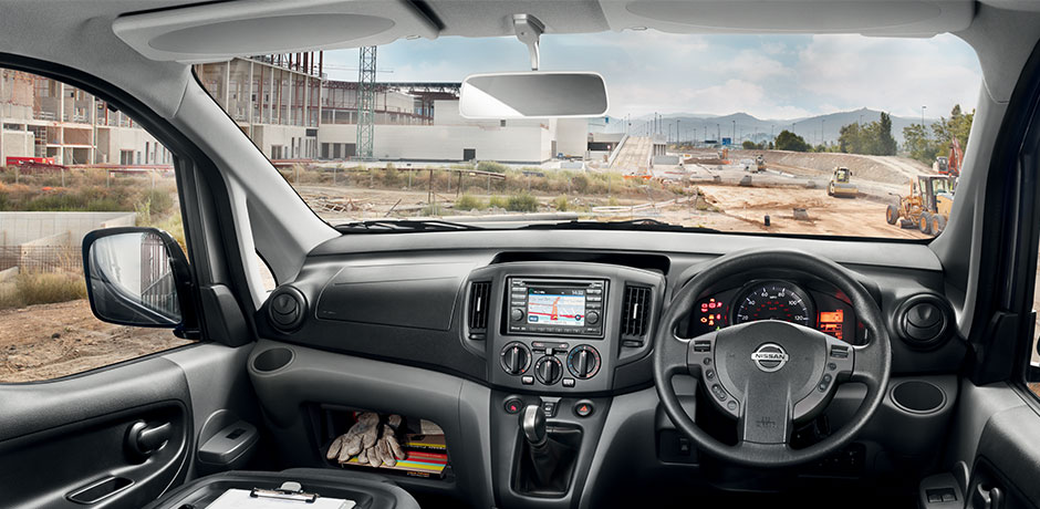 Nissan NV200 Combi interior design