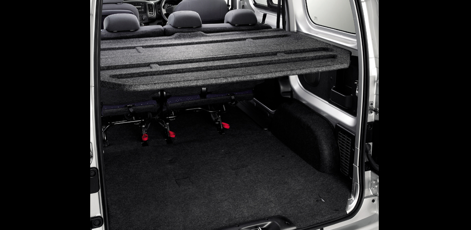 Nissan NV200 Combi cargo space