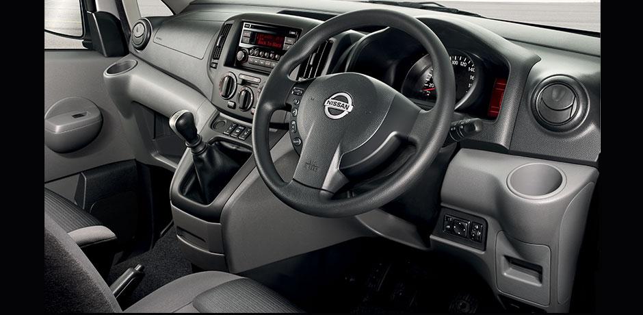 Nissan NV200 Van interior