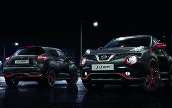 Design exteriéru vozu Nissan Juke