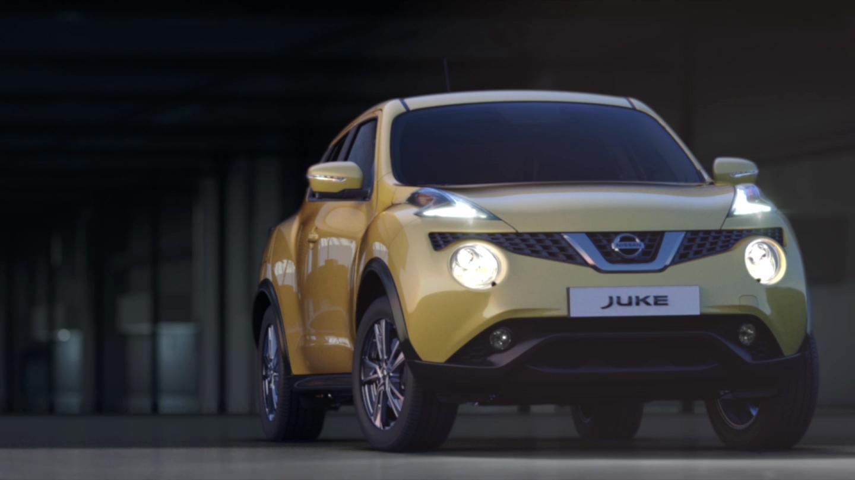 Frontal Nissan JUKE Crossover & SUV
