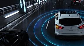 Tecnología de aviso de ángulo muerto de Nissan