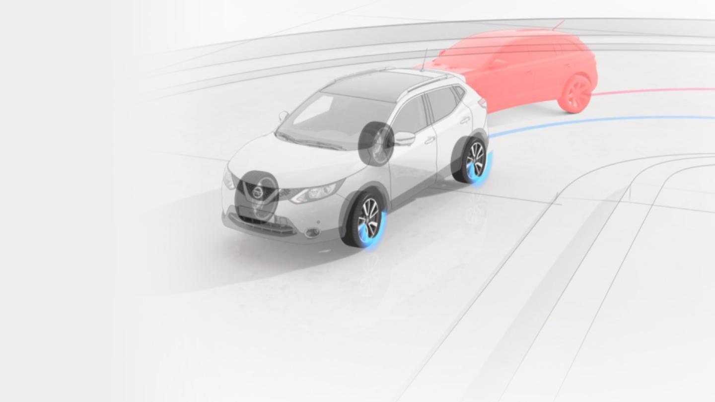 Tecnologías de control del chasis del Nissan QASHQAI