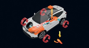 All Mode 4x4-i del Nissan QASHQAI