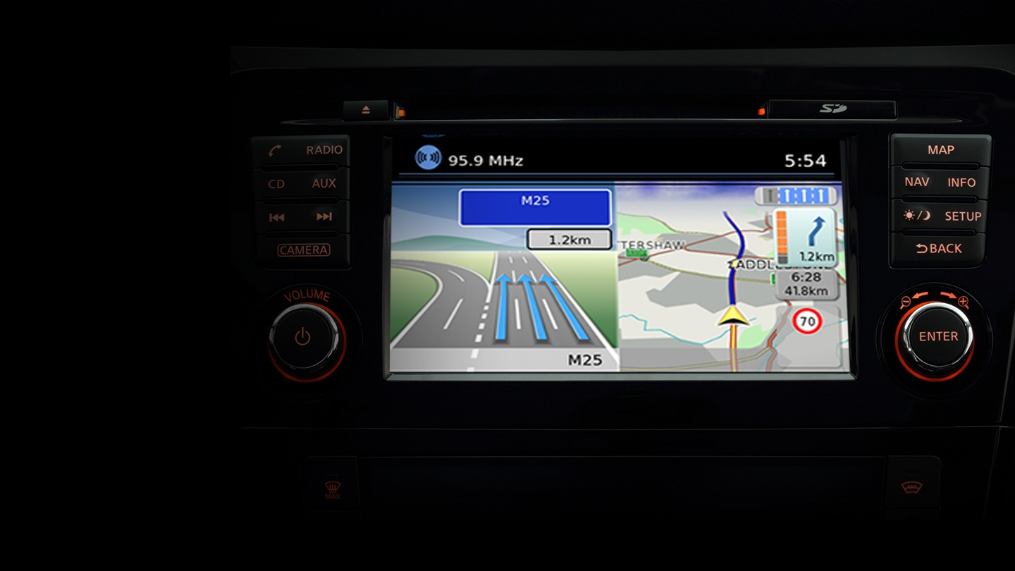nissan qashqai navigation connect