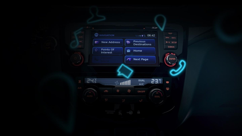 NissanConnect del Nissan QASHQAI