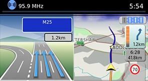Nissan QASHQAI Navigace