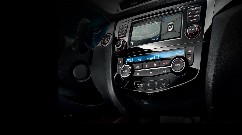 Monitor de vista perimetral de Nissan a 360º