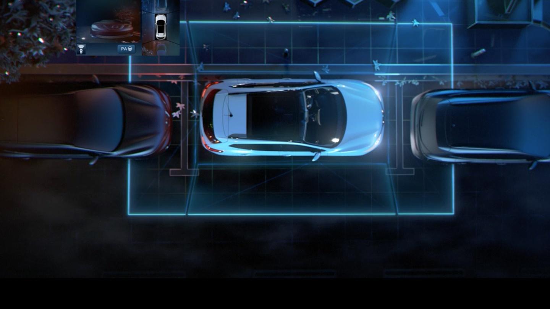 Nissan Inteligentní parkovací asistent