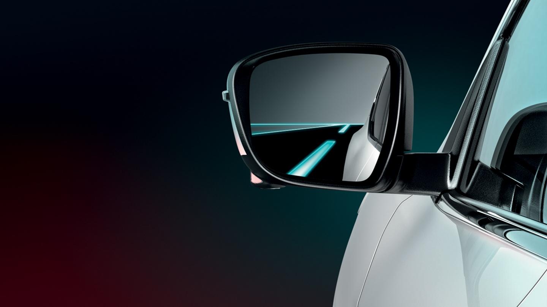 Nissan hlídání mrtvého úhlu