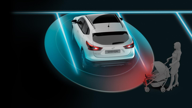 Nissan detekce objektů