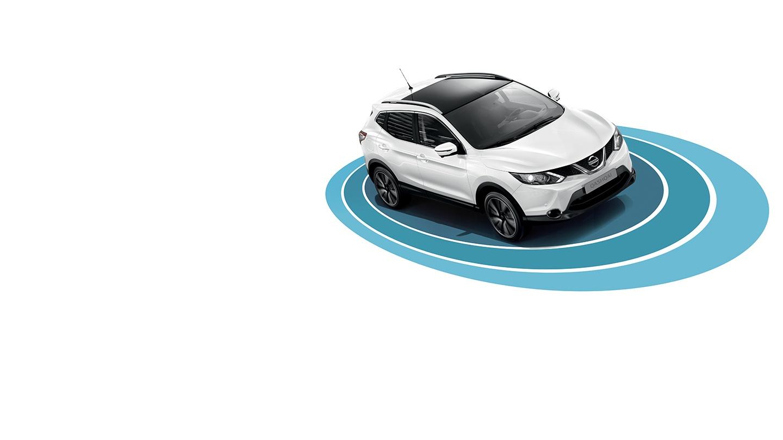 Nissan QASHQAI bezpečnostní technologie